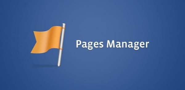 Facebook Pages Manager banner