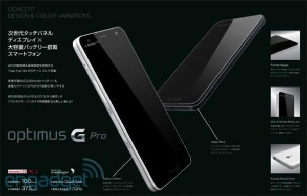 LG Optimus Pro Anuncio