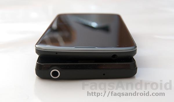 LG Nexus 4 y el Sony Xperia T con vídeo HD