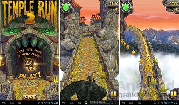 Los mejores juegos Android del 2013: Temple Run 2