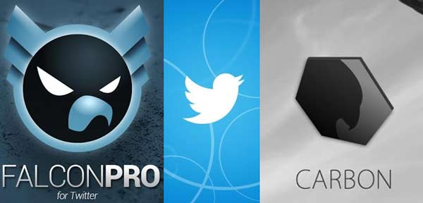 3 Apps de Twitter para Android para 3 usuarios diferentes