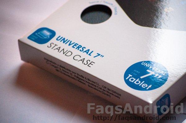 Análisis de la funda universal 4-OK de Blautel para tablets de 7 pulgadas