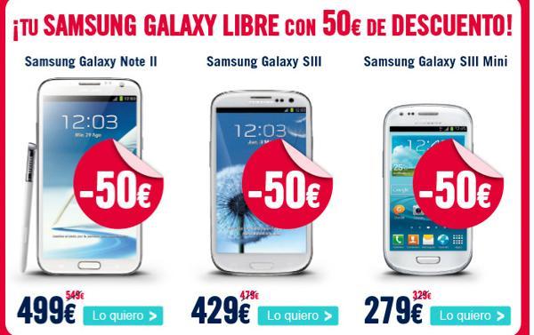 Samsung Galaxy Note 2 y más con 50€ de descuento en The Phone House sólo 48 horas