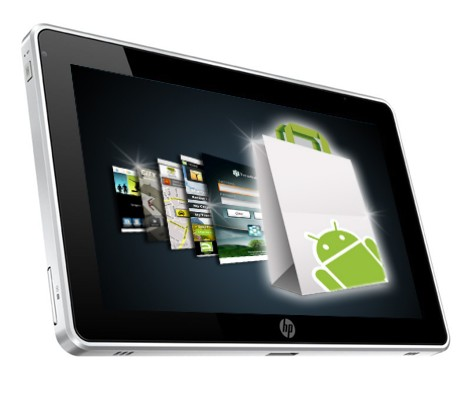 Tablet HP con Android