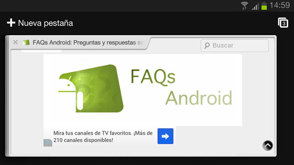 Chrome para Android se actualiza en el Google Play Store
