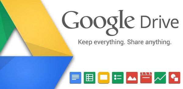Googe Drive se desdobla en documentos y hojas de cálculo