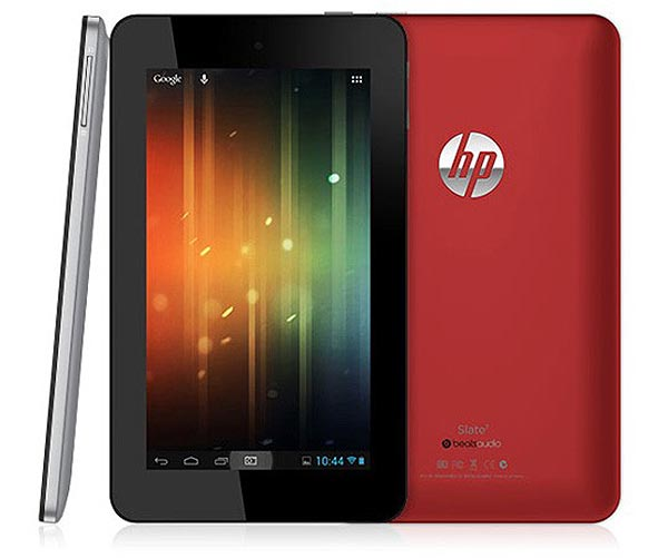 5 tablets Android de calidad por menos de 200 euros: HP Slate 7