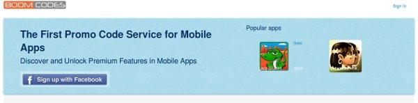 Captura de la web que proporciona el servicio