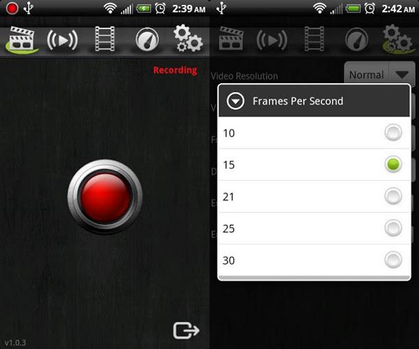 Aplicaciones y programas para grabar la pantalla de tu Android - Screencast Video Recorder