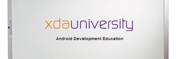 Banner de la Universidad XDA