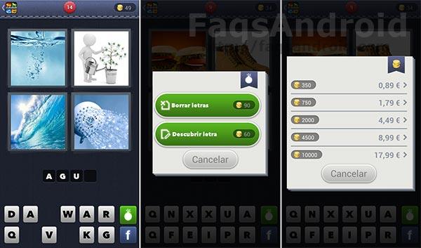 Juego para android de l gica e inteligencia 4 fotos 1 palabra for Cama 4 fotos 1 palabra