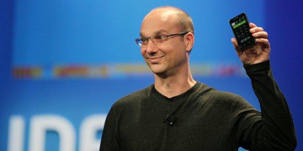 Andy Rubin, ahora ex director de Google Android