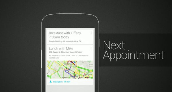 Google Now Next appointment