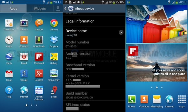 ROM Oficial Samsung Galaxy S4 Android 4 2 2 Jelly Bean