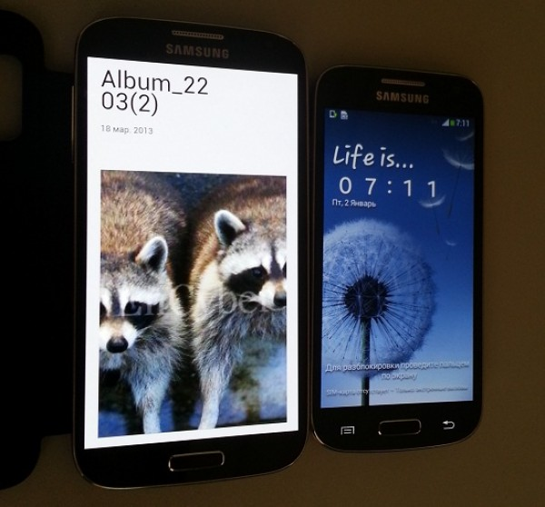 Samsung Galaxy S4 Mini i9190 leaked