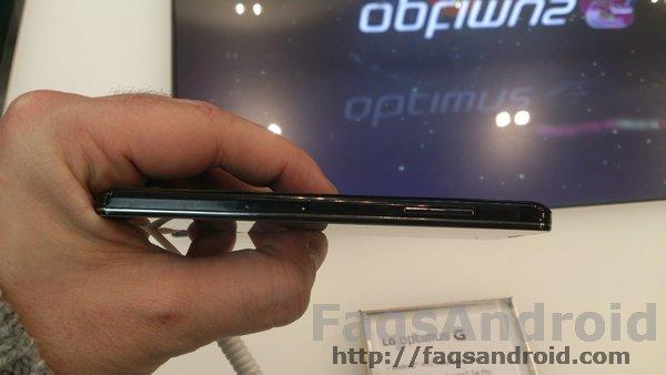 Toma de contacto LG Optimus G MWC13 01