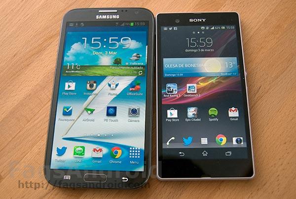Tamaños de pantalla en móviles Android, ¿más o menos de 5 pulgadas? #AndroidWars