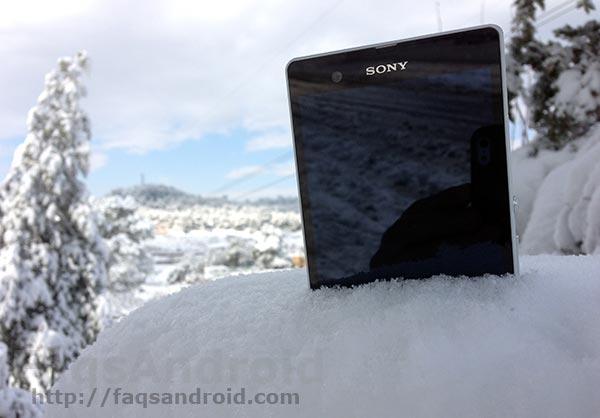 Review y análisis a fondo del Sony Xperia Z con vídeo en HD