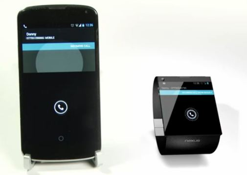Google Nexus Smartwatch render