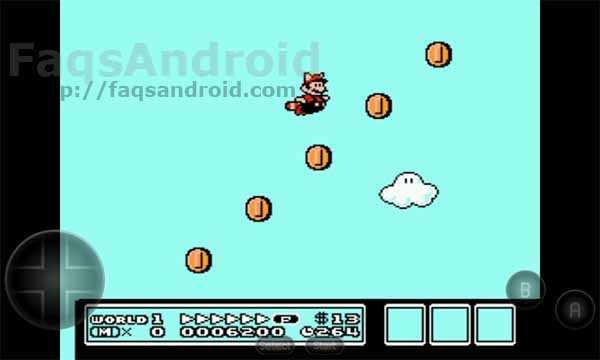 Captura de pantalla de NES