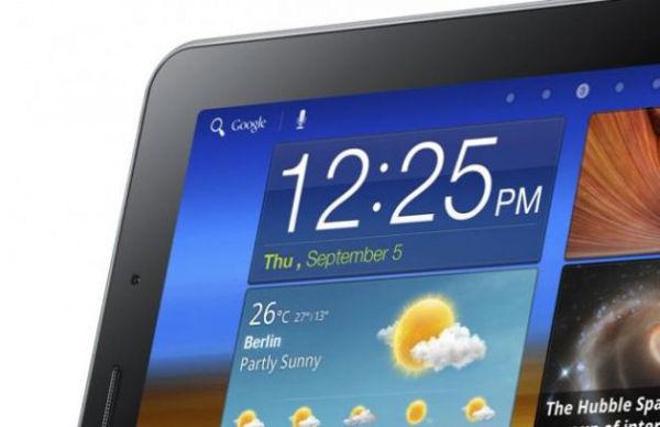 Samsung Galaxy Tab recorte