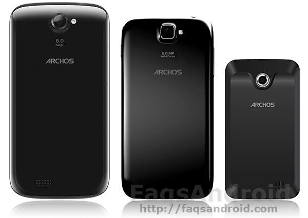 Archos 53 Platinum, Archos 50 Platinum y Archos 35 Carbon