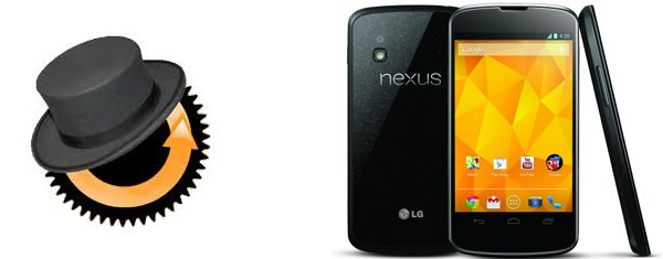 Banner con un Nexus 4