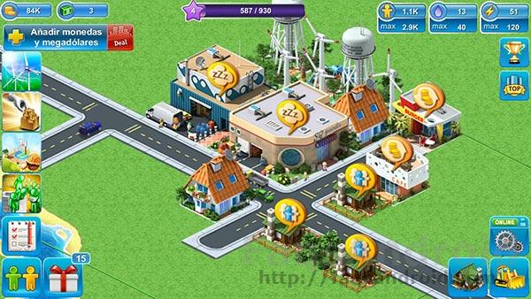 Megapolis, un juego de construcción de ciudades muy social
