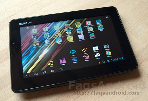 Análisis y review de la tablet Energy Tablet s7 Dual