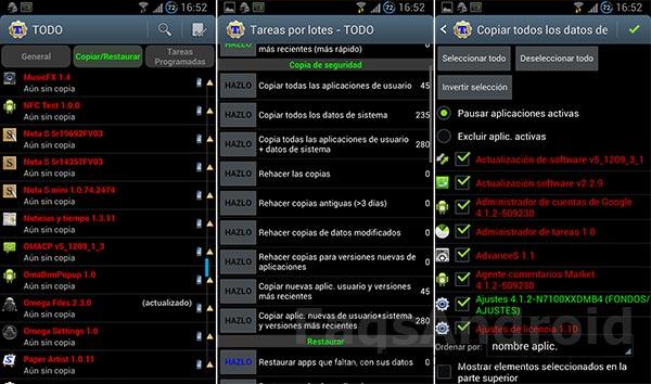 5 apps para guardar y restaurar los datos de las aplicaciones
