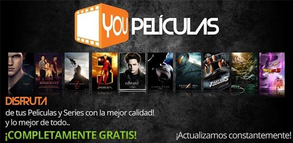 You Películas, una aplicación multimedia completa y gratuita