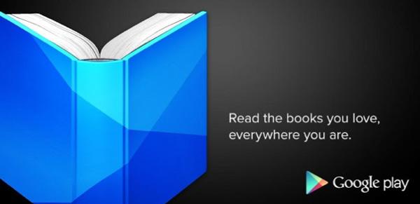 Google Play Books permite subir contenido propio como Google Play Music