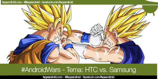 AndroidWars, guerra de androides: Samsung vs HTC