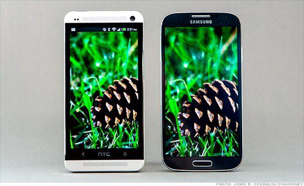 El Samsung Galaxy S4 ha vendido 10 millones de unidades, el HTC One 5 millones