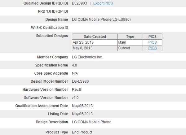 Posible LG Nexus 5 o LG Optimus G
