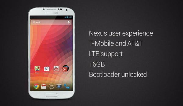 Samsung Galaxy S4 AOSP: Android puro sin TouchWiz