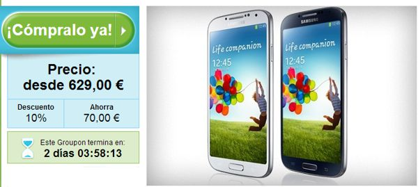 Samsung Galaxy S4 Groupon