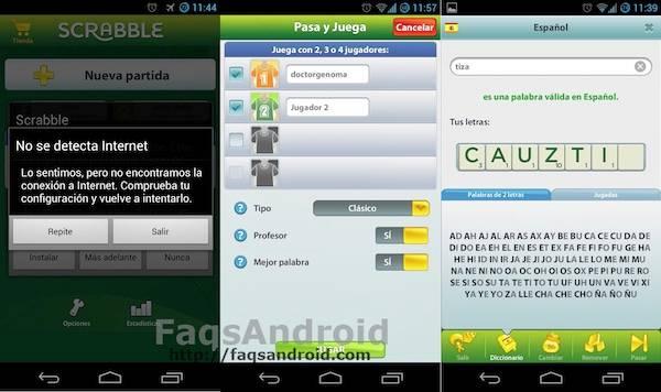 Imágenes de Scrabble para Android