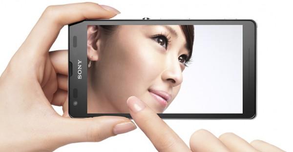 Sony Xperia UL pantalla