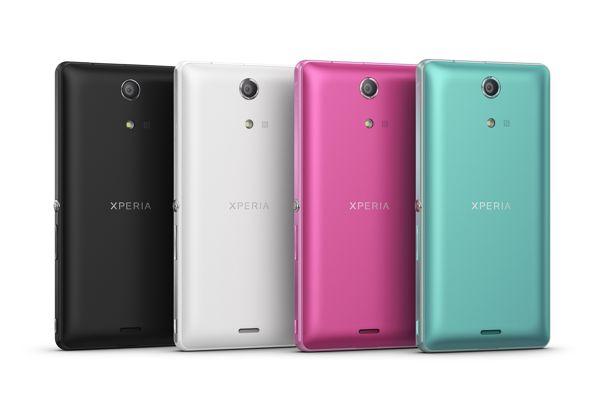 Sony Xperia ZR Colores