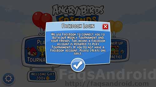 Conexión a Facebook