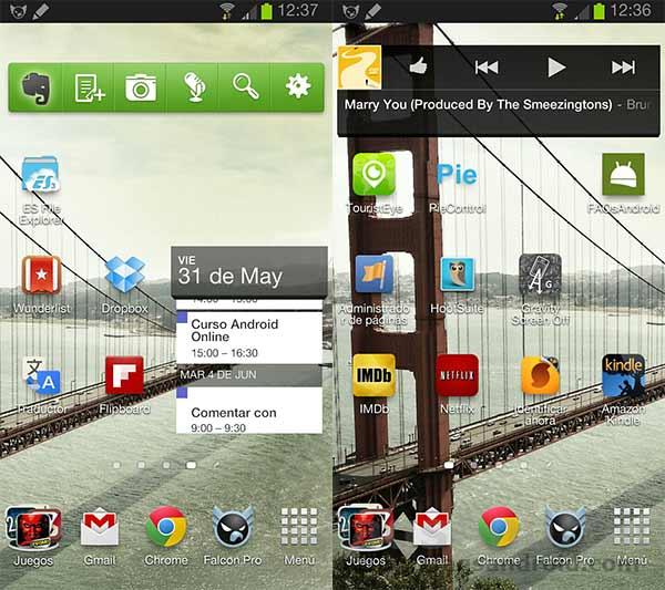 La elección de móvil Android y apps de Álvarez del Vayo, @alvarezdelvayo