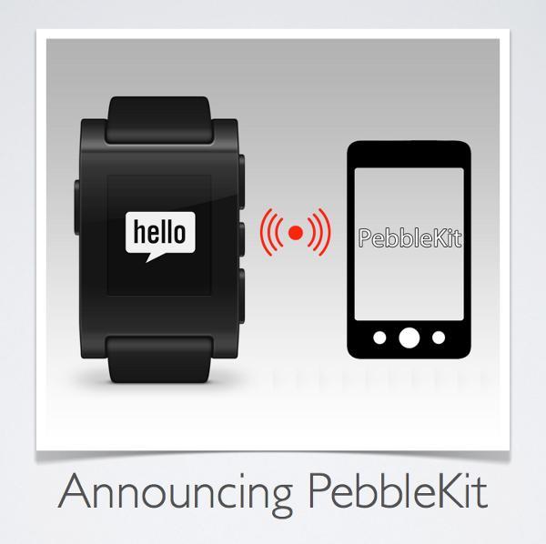 Banner relativo a la comunicación bidireccional entre el Reloj Pebble y el teléfono