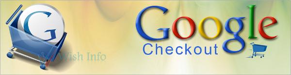 Banner de Google Checkout