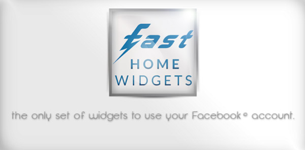 Fast Home Widgets: Widgets de Facebook para Android estilo Facebook Home