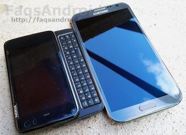 El móvil Android de Iván Linares