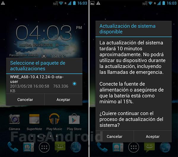 Cómo actualizar el Asus Padfone 2 a Android Jelly Bean