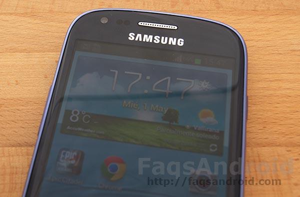 Review y análisis del Samsung Galaxy S3 Mini con su vídeo en HD