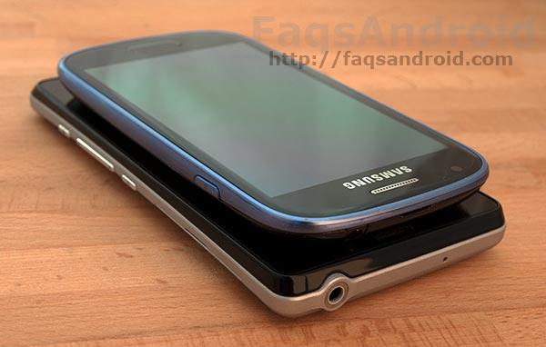 Comparativa entre el Samsung Galaxy S3 Mini y el Sony Xperia T