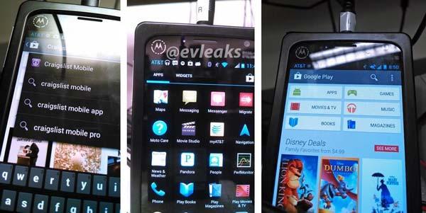 Se filtran más fotos de Motorola con el posible X Phone